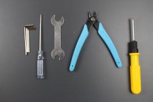 mitgelieferte Werkzeug des Anet A6